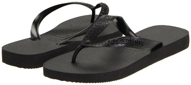 Havaianas Top Flip Flops Black