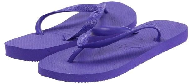 Havaianas Top Flip Flops Ice Violet