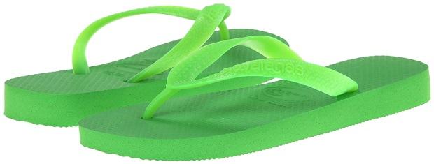 Havaianas Top Flip Flops Neon Green