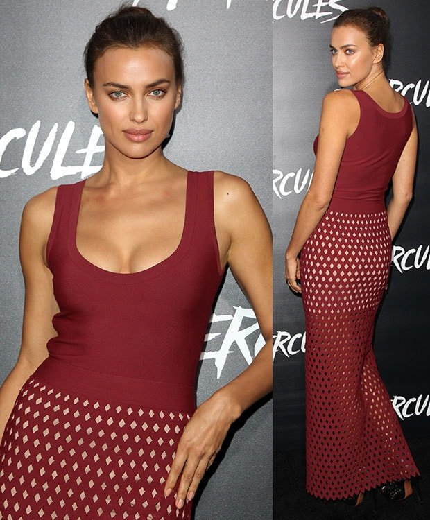 Irina Shayk at the premiere of Hercules at TCL Chinese Theatre in Hollywood, California,on July 23, 2014