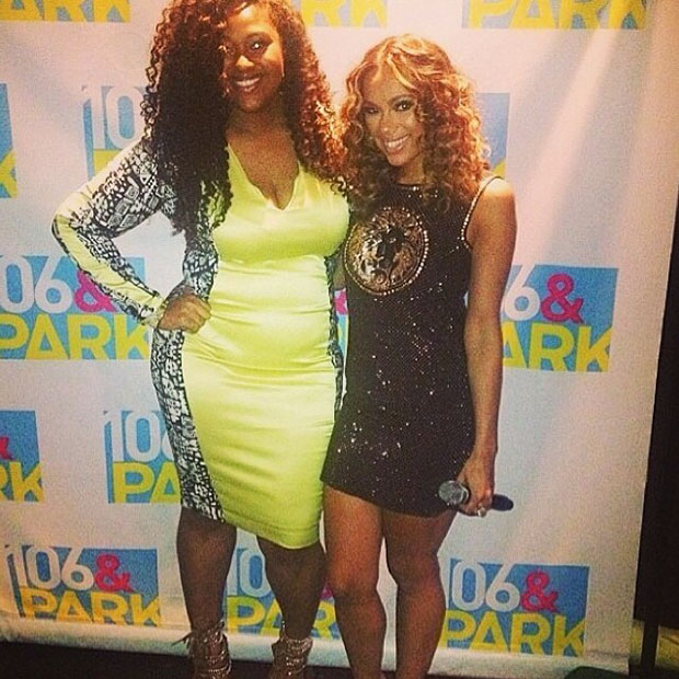 Jazmine Sullivan and Erica Mena 106 & Park