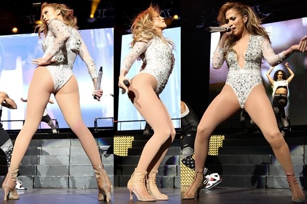 Jennifer Lopez performing at the KTUphoria 2014 at IZOD Center in New Jersey on June 29, 2014