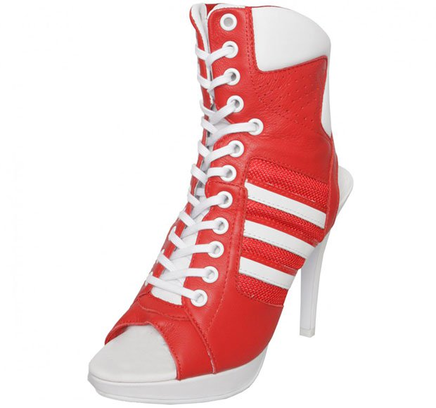 Jeremy Scott for adidas High-Heel Sneakers