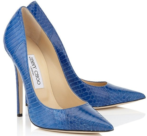 Jimmy Choo Blue Anouk