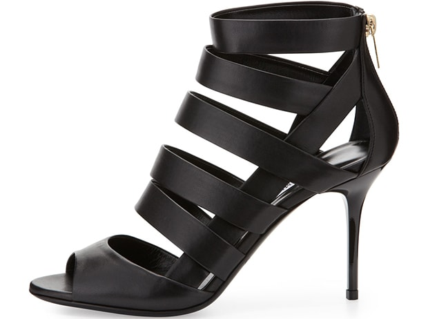 Jimmy Choo Damsen Strappy Caged Sandal Booties