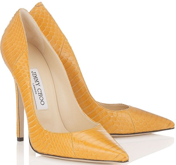 Jimmy Choo Yellow Anouk
