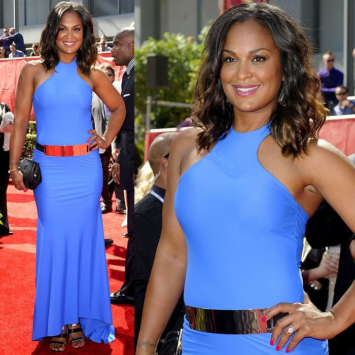 Laila Ali attended the 2014 ESPY Awards held at Nokia Theatre L.A. Live in Los Angeles on July 16, 2014
