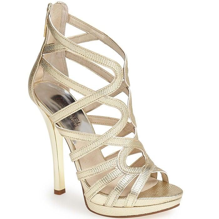 MICHAEL Michael Kors Tatianna Strappy Platform Sandals