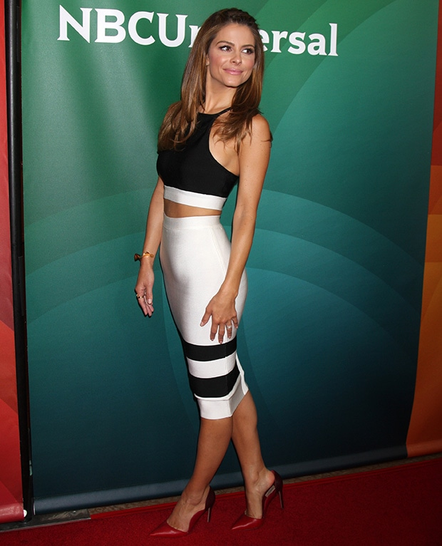Maria Menounos at NBCUniversal's 2014 Summer TCA Press Tour