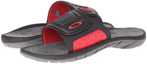 Oakley Supercoil Slide '13 Black Red