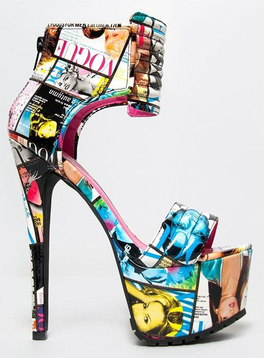 Privileged Cosmic Crush sandals