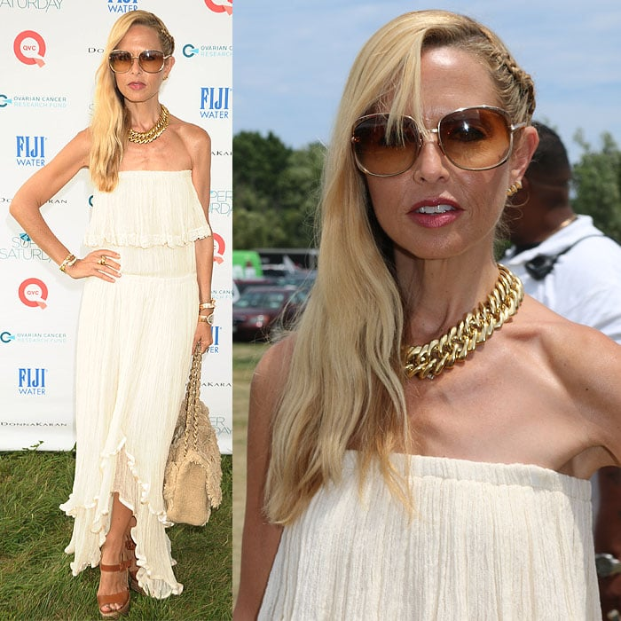 Rachel Zoe at the Ovarian Cancer Research Fund's 17th Annual Super Saturday hosted by Kelly Ripa and Donna Karan held in Water Mill, New York, on July 26, 2014