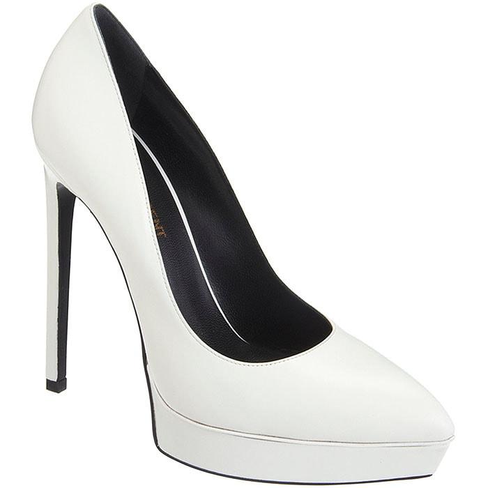 Saint Laurent Janis white
