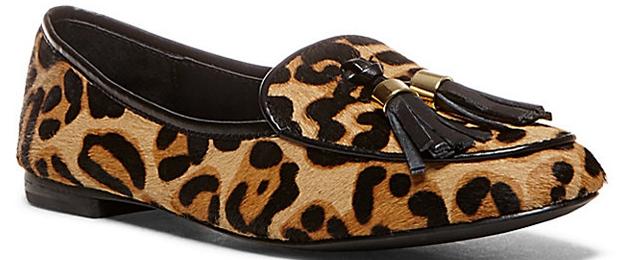 Steve Madden Lunni Leopard Print Flats