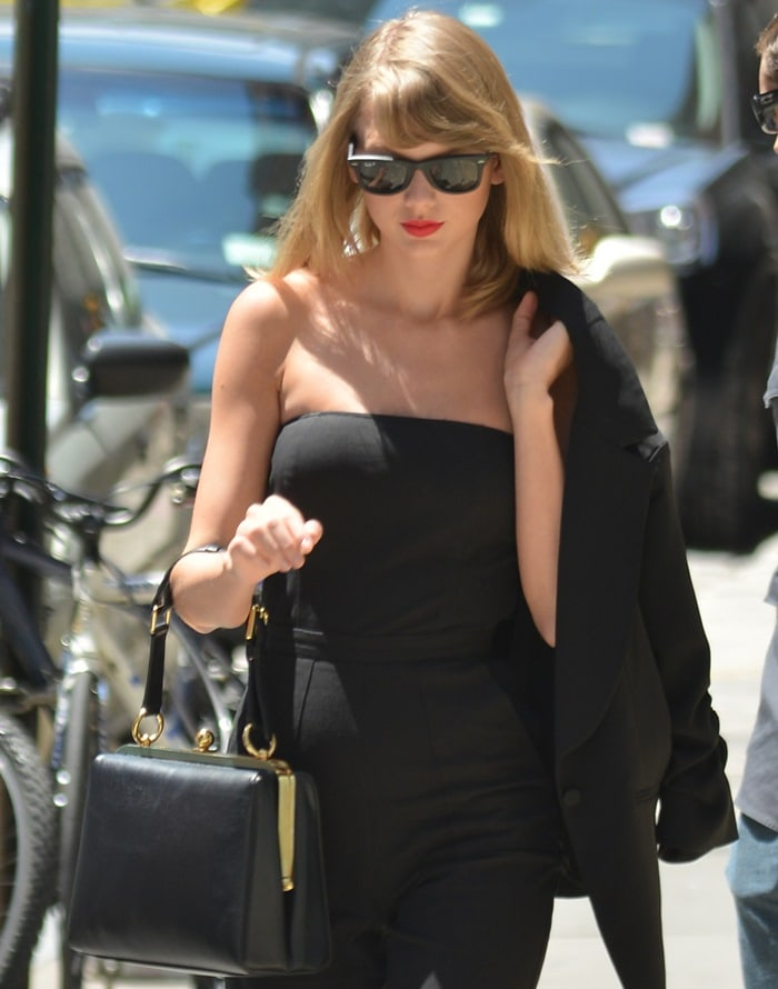 Taylor Swift spotted out in New York