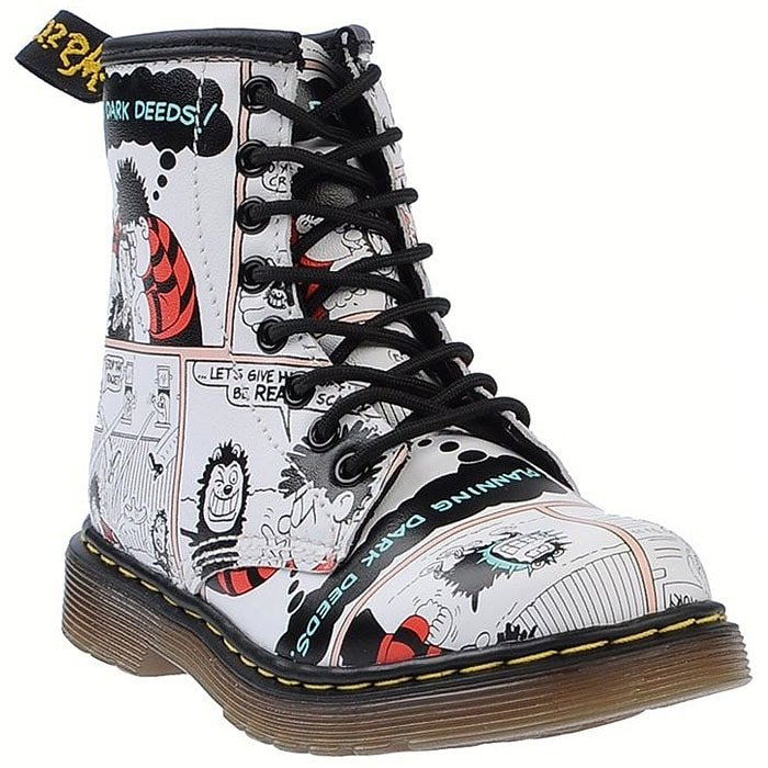 comic book Doc Martens