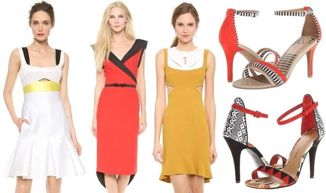 Fabulous colorblock dresses