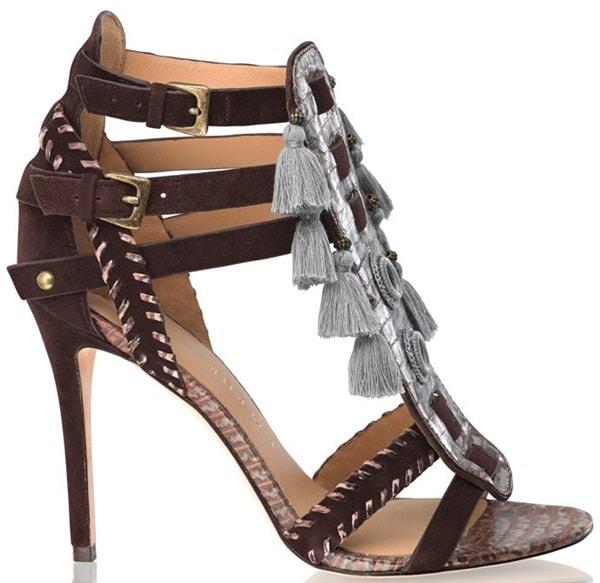 kotur guzel tassel sandals 2