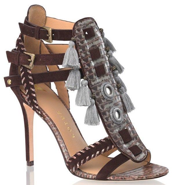 kotur guzel tassel sandals