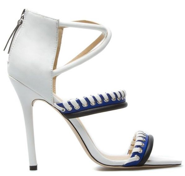 GX by Gwen Stefani Takara Sandals in Blue/White
