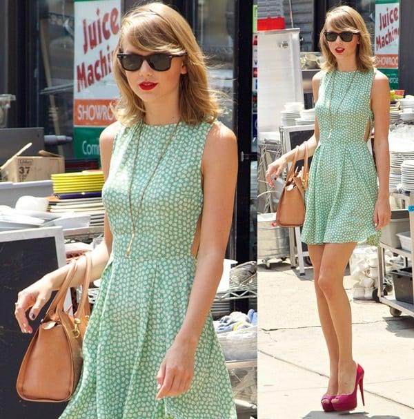 taylor swift NYC shopping