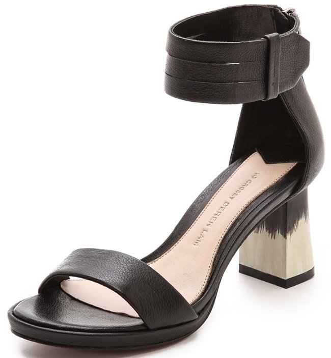"10 Crosby by Derek Lam ""Marcel"" Block-Heel Sandals"