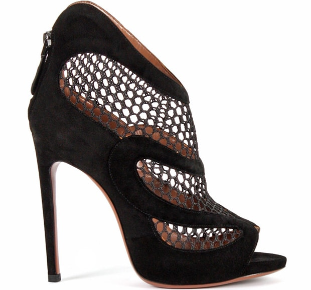 Alaia-Suede-and-Mesh-Ankle-Boots