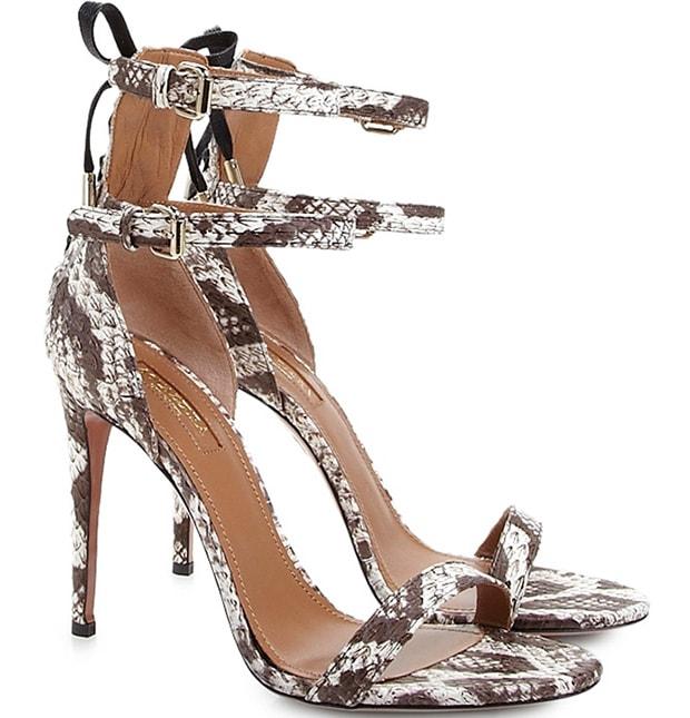 """Aquazzura """"Saharienne"""" Sandals"""