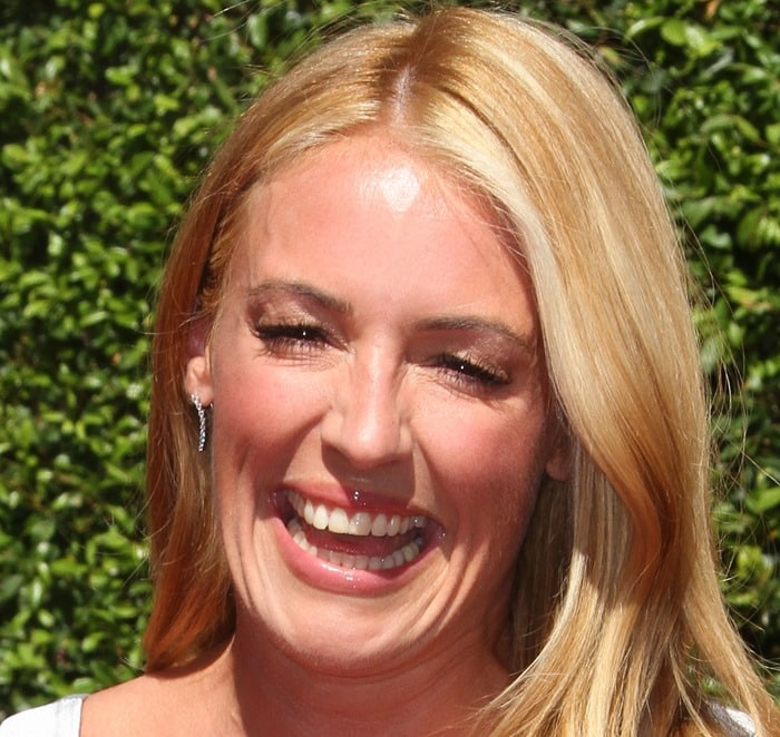Cat Deeley at the 2014 Creative Arts Emmy Awards held at the Nokia Theatre L.A. LIVE in Los Angeles on August 16, 2014
