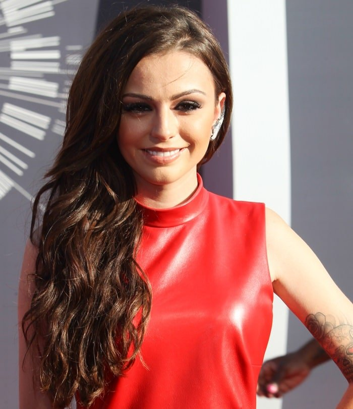 Cher Lloyd at the 2014 MTV Video Music Awards at The Forum in Inglewood, California, on August 24, 2014