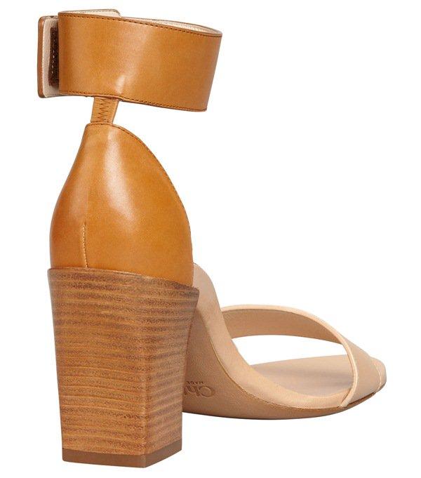 Chloe Stacked Heel Ankle Wrap Sandal3