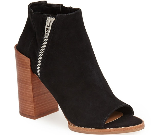 DV by Dolce Vita 'Mercy' Booties in Black Suede