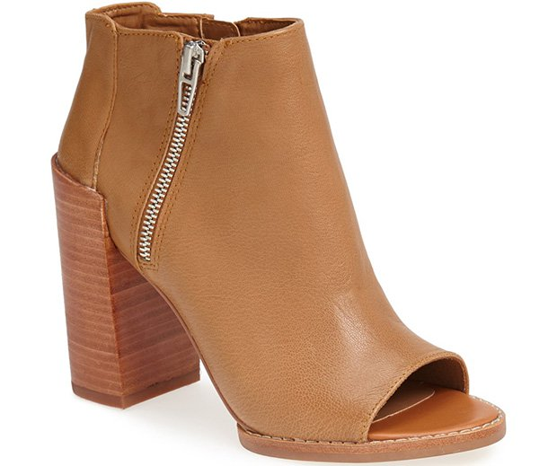 DV by Dolce Vita 'Mercy' Booties in Honey Leather