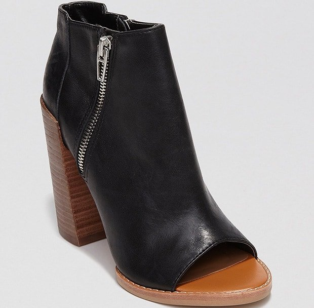 DV by Dolce Vita 'Mercy' Booties in Black Leather