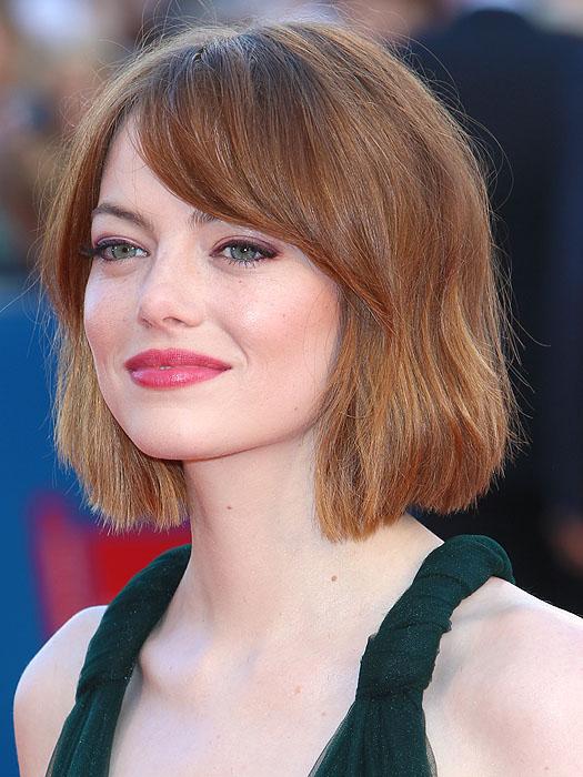 Emma Stone's new, shorter hairdo