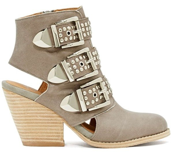 "Jeffrey Campbell ""Cobrun"" Ankle Boots"
