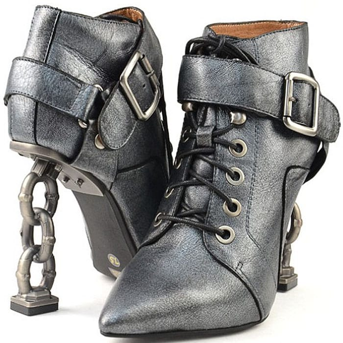 Jeffrey Campbell Lynked-Tie Booties