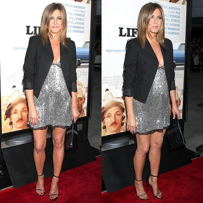 Jennifer Aniston at the 'Life of Crime' premiere at the ArcLight Cinemas in Hollywood, California, on August 27, 2014