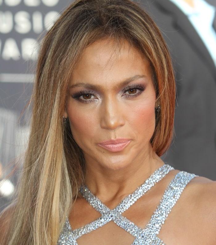 Jennifer Lopez accessorized with Norman Silverman jewelry
