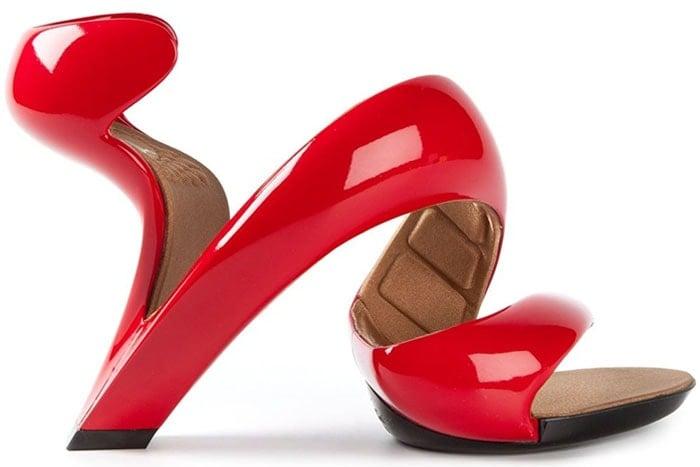 Julian Hakes Mojito twisted sandals