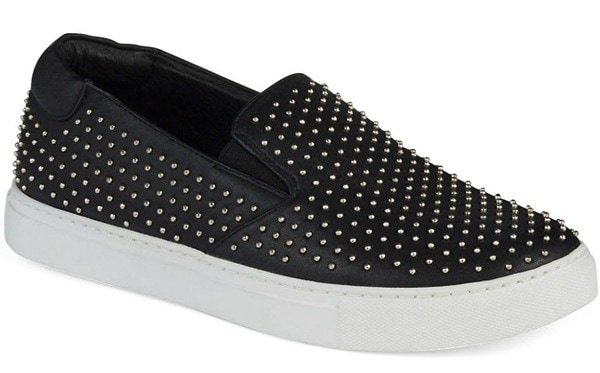 "Kenneth Cole New York ""King"" Studded Sneakers"