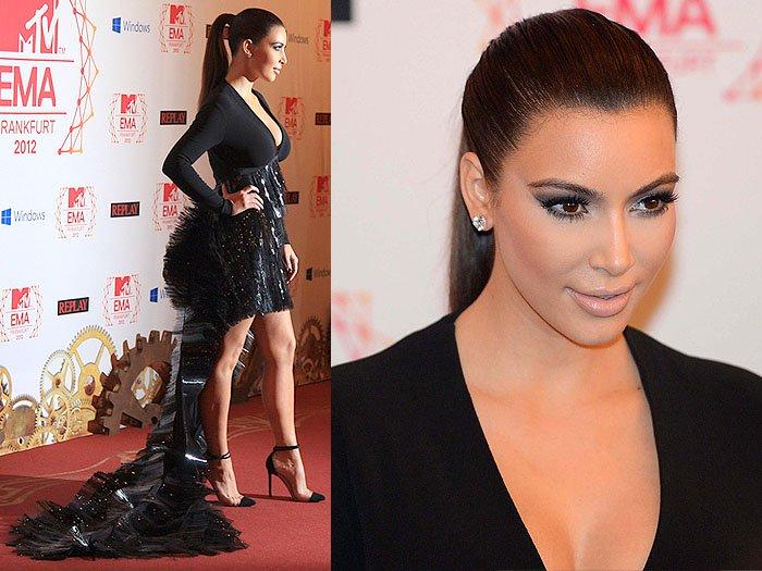 Kim Kardashian at the 2012MTV Europe Music Awards