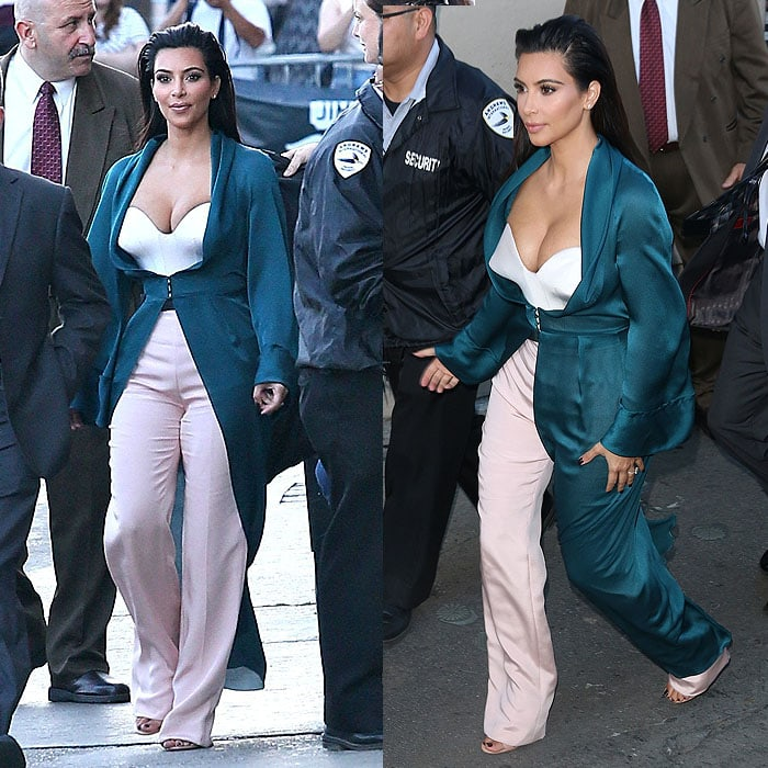 Kim Kardashian in Ulyana Sergeenko Spring 2014 couture