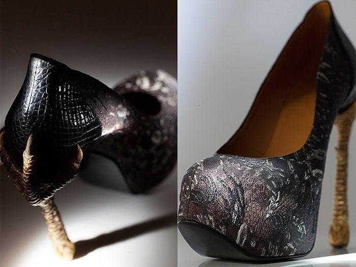 Masaya Kushino bird shoes 1