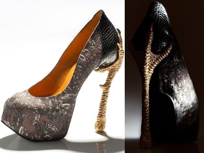 Masaya Kushino bird shoes