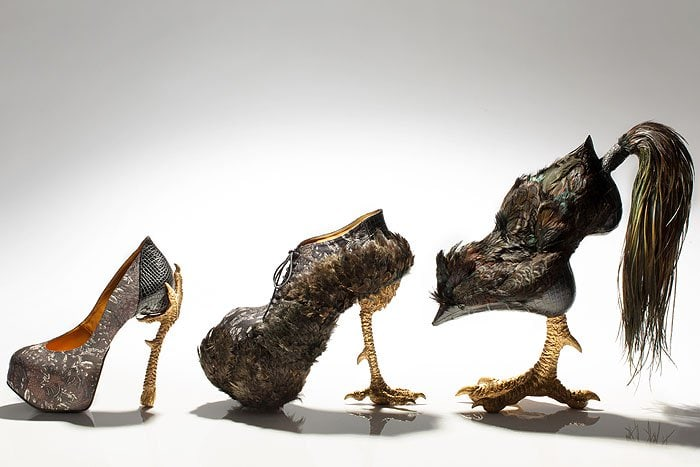 "Masaya Kushino's ""Bird-Witching"" shoe collection"