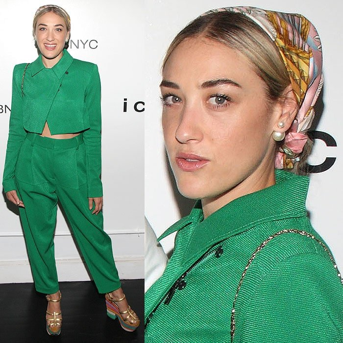 Mia Moretti at the Fashion Meets Hip-Hop: ICB x Def Jam Mix-Tape and Campaign Celebration in New York City on July 30, 2014