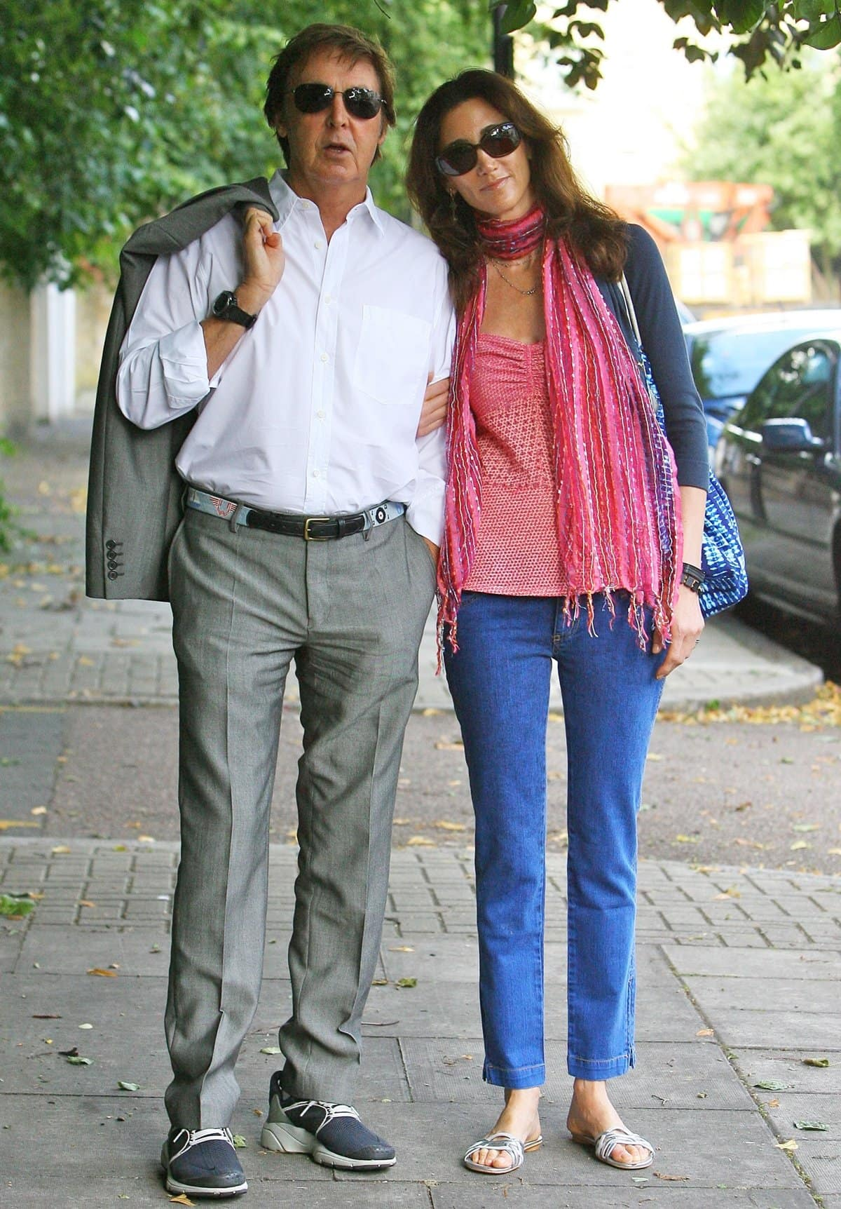 Sir Paul McCartney met his third wife Nancy Shevell in the Hamptons on Long Island