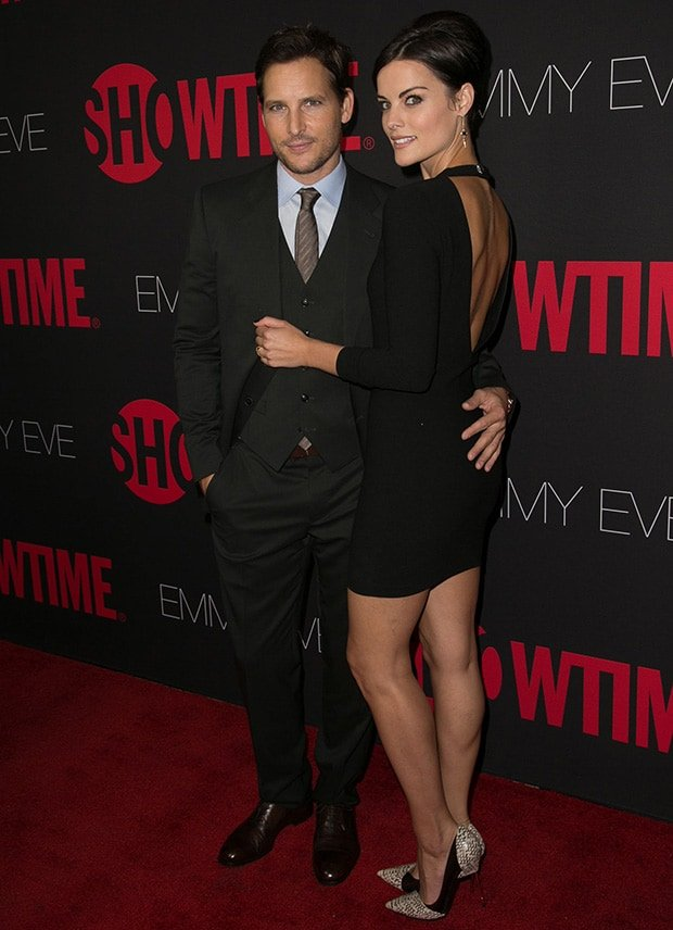 Jaimie Alexander attended Showtime's 2014 Emmy Eve Soiree with her boyfriend, Peter Facinelli, at the Sunset Tower Hotel