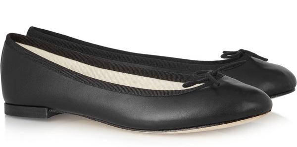 Repetto The Cendrillon Leather Ballet Flats